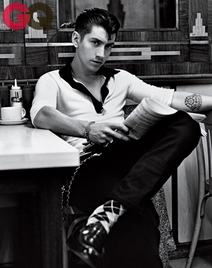 Inspired Style Alex Turner For Gq