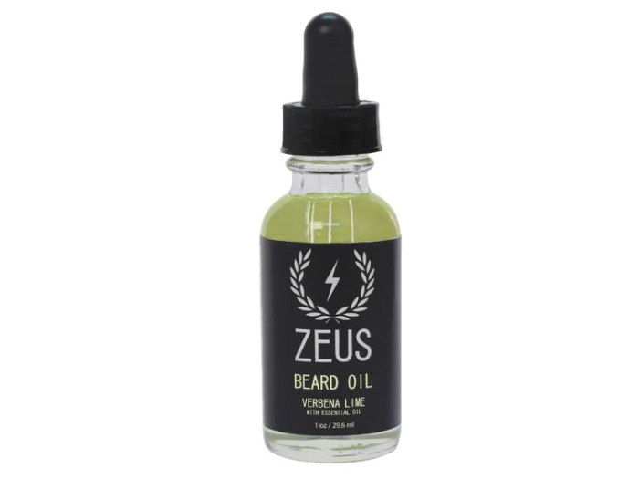 Zeus Verbena Lime Beard Oil
