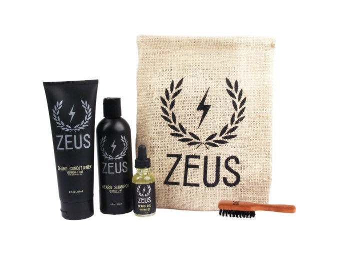 Zeus beard care prestige kit