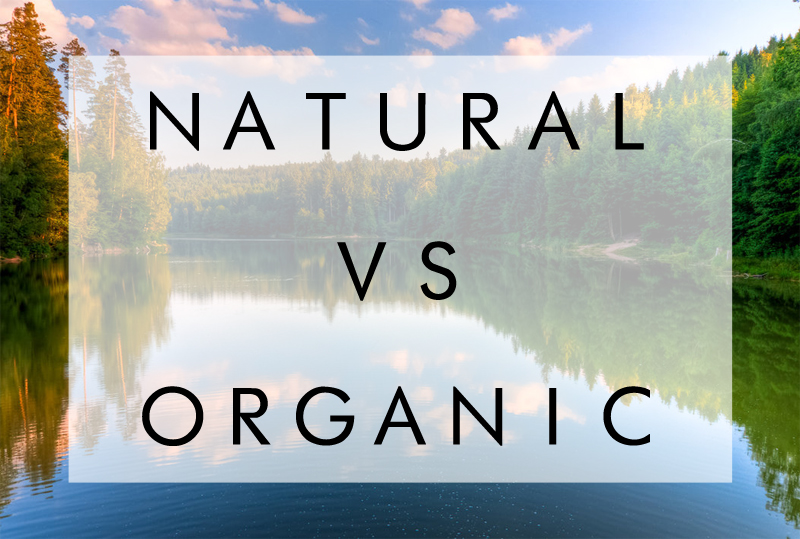 What is the main difference between natural and organic?