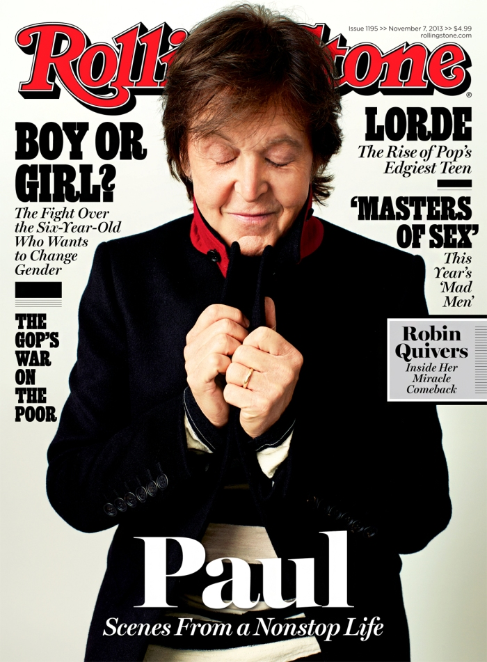 Paul McCartney Rolling Stone
