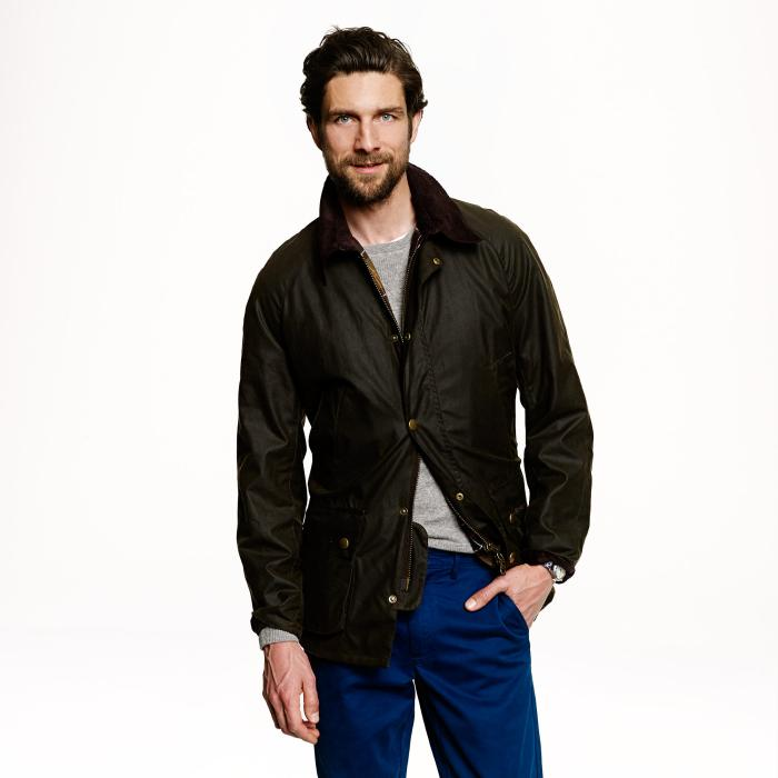 J. Crew Barbour Ashby Jacket