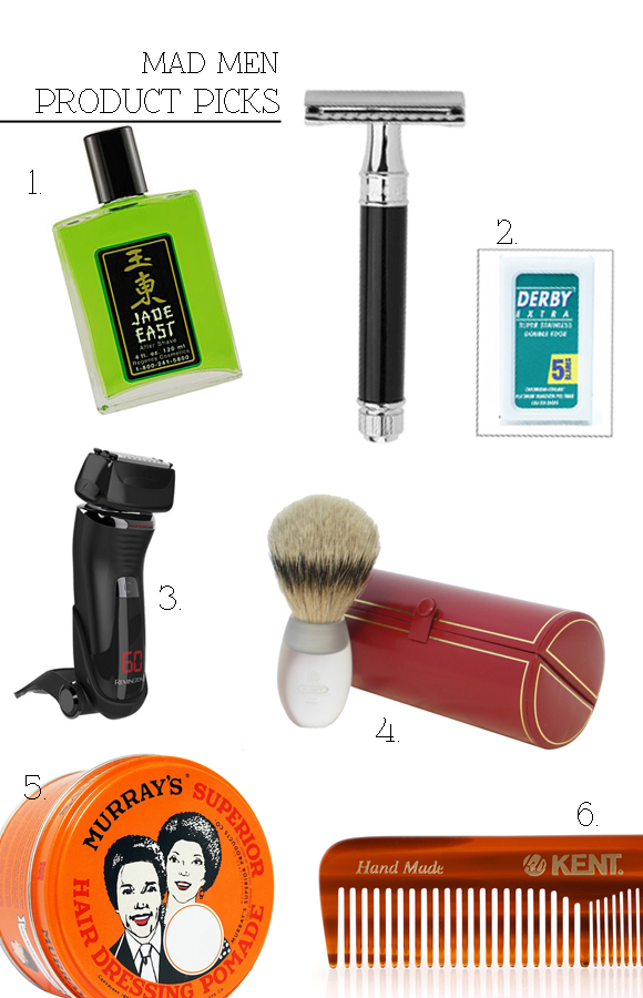 Infographic: How to Shave and Groom Like Mad Men's Don Draper «