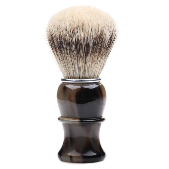hr_411-188-00_thiers-issard-silvertip-badger-shaving-brush-brown-horn