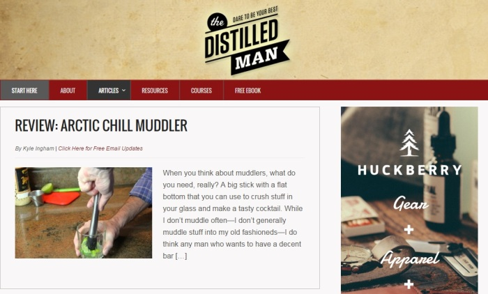Distilled Man