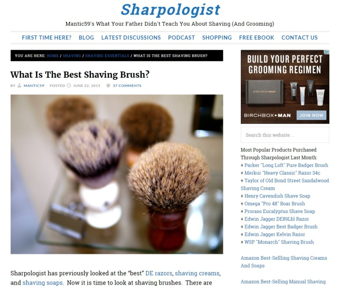 The Sharpologist