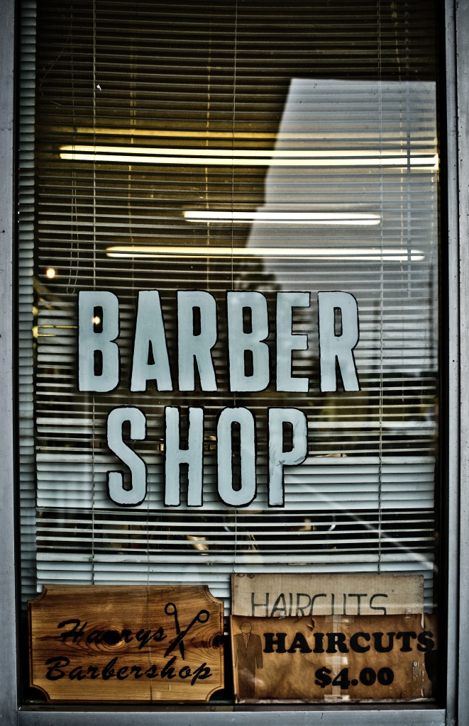 Harry's Barbershop in Biloxi, Mississippi