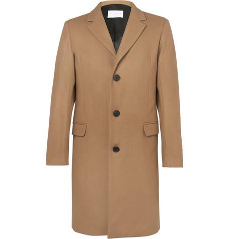 Sandro Wool Blend Overcoat